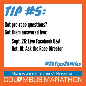 Tip 5 - Get questions answered live