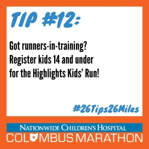 Tip 12 - Kids Run