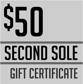 second sole gift certificate