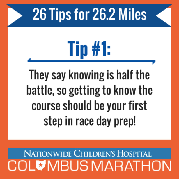 Tip 1 - Know the course