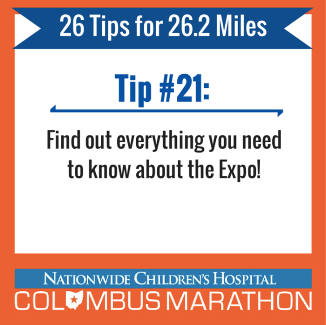Tip 21 - Expo Info