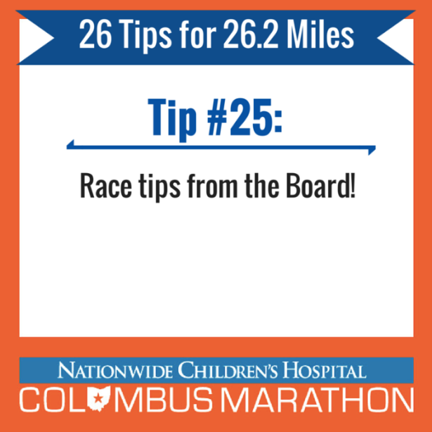 Tip 25 - TIps from the Board