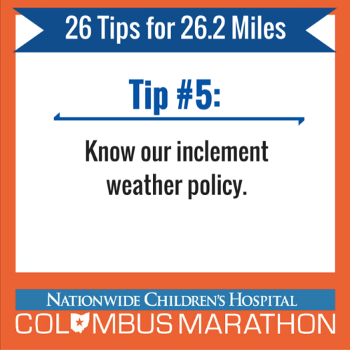 Tip 5 - Weather (1)