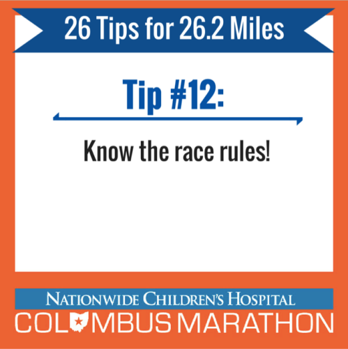 Tip 12 - race rules